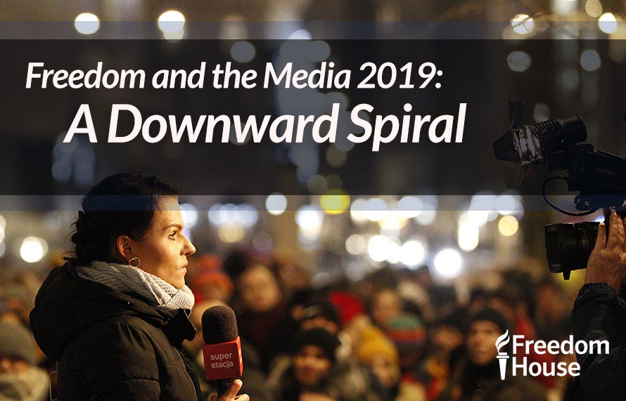 Freedom and the Media: A Downward Spiral
