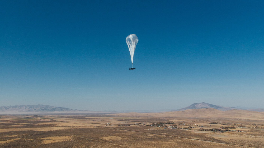 Google Loon Is Now Beaming WiFi Down to Earth From Giant Balloons