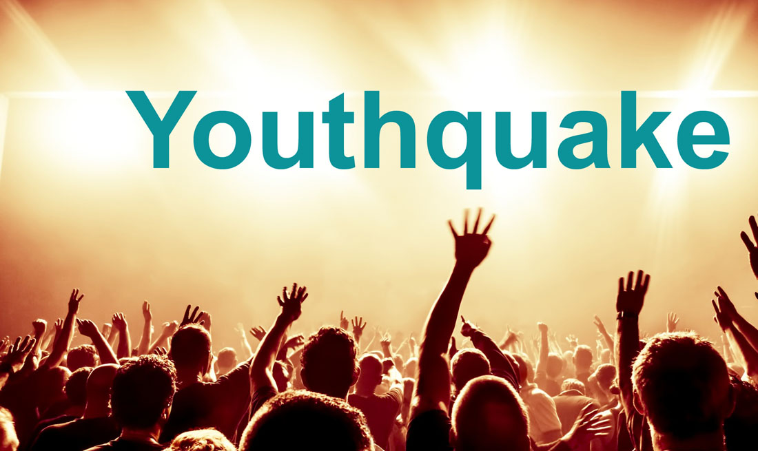 The Oxford Dictionaries Word of the Year 2017 is Youthquake