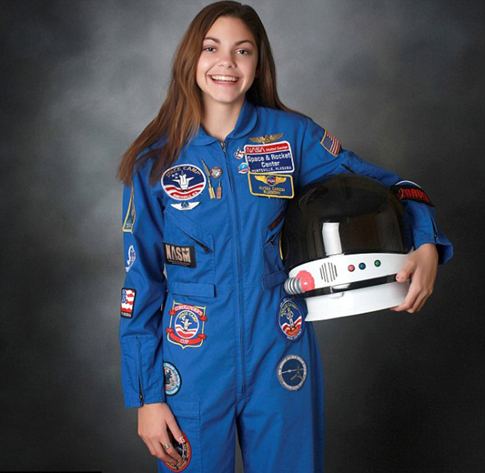 NASA Is Preparing This Girl To Become The First Human On Mars