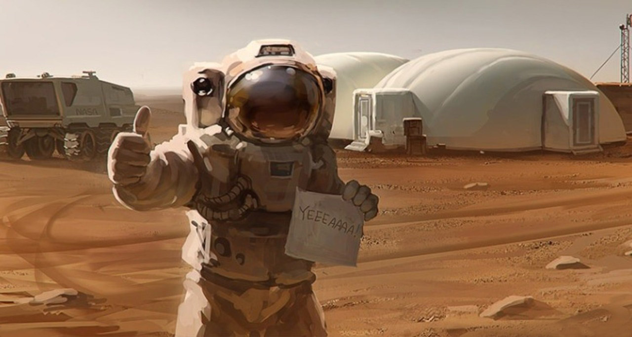 To Colonize Mars Humans Need to Evolve