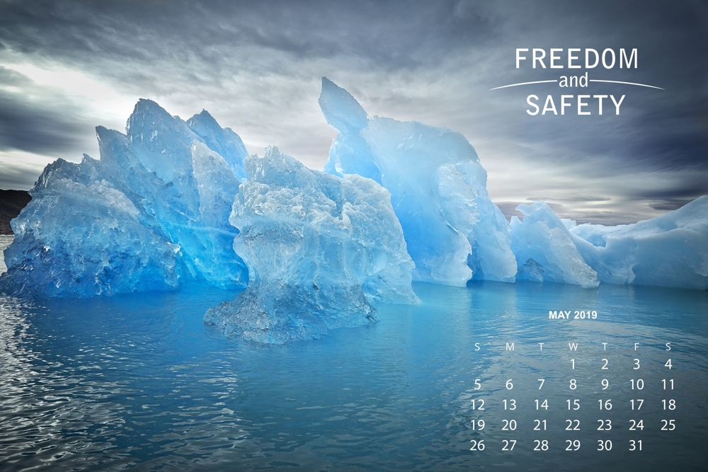 freedom and safety calendar may 2019