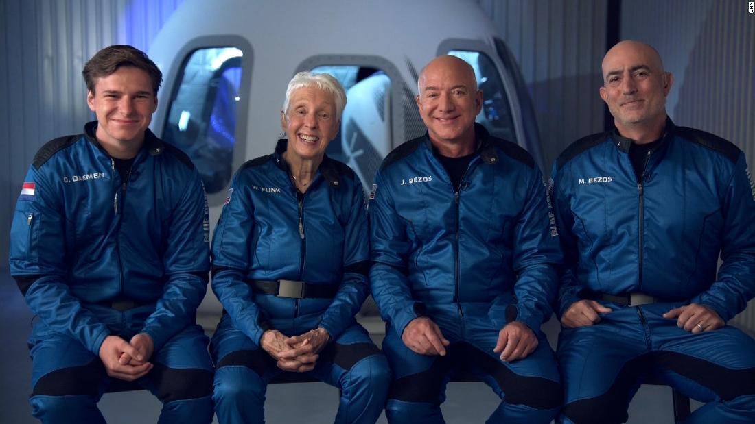 Blue Origin Launch: Jeff Bezos and Crew Complete Successful Space Flight