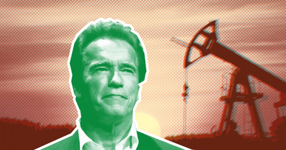 Arnold Schwarzenegger Is Suing Big Oil for Climate Change