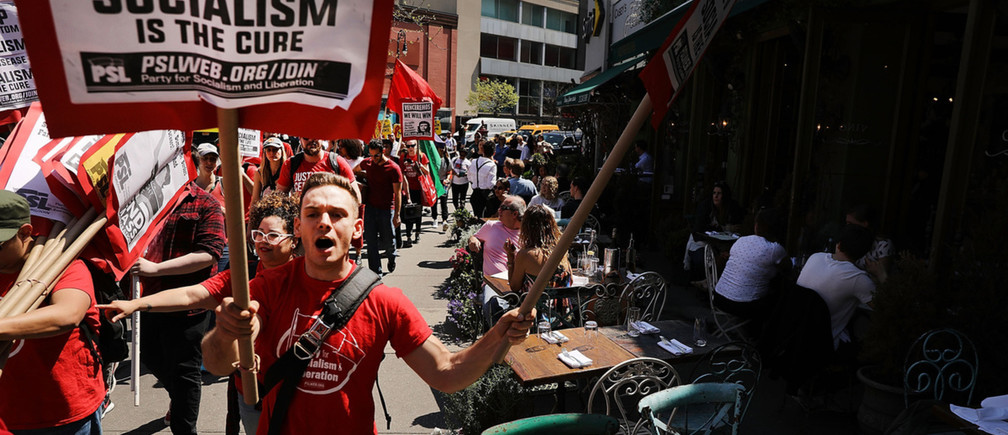 Over 40% of Americans Now Call Socialism a 'Good Thing'