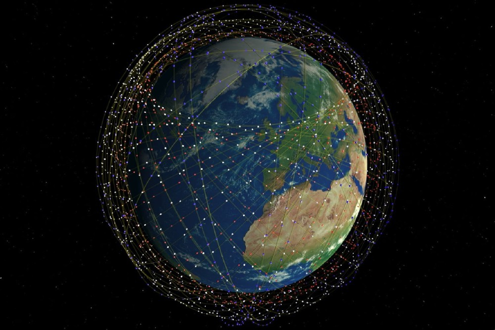 SpaceXs Internet Satellites Could Be a Problem for Astronomers