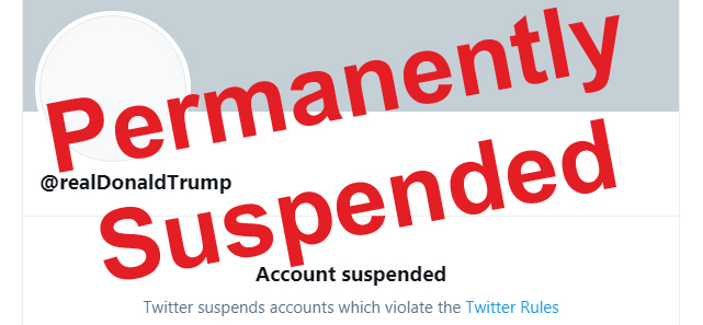 Twitter Permanently Blocked Trumps Account